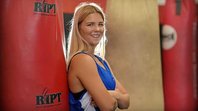 TALENTED: Boxer Taylah Robertson.