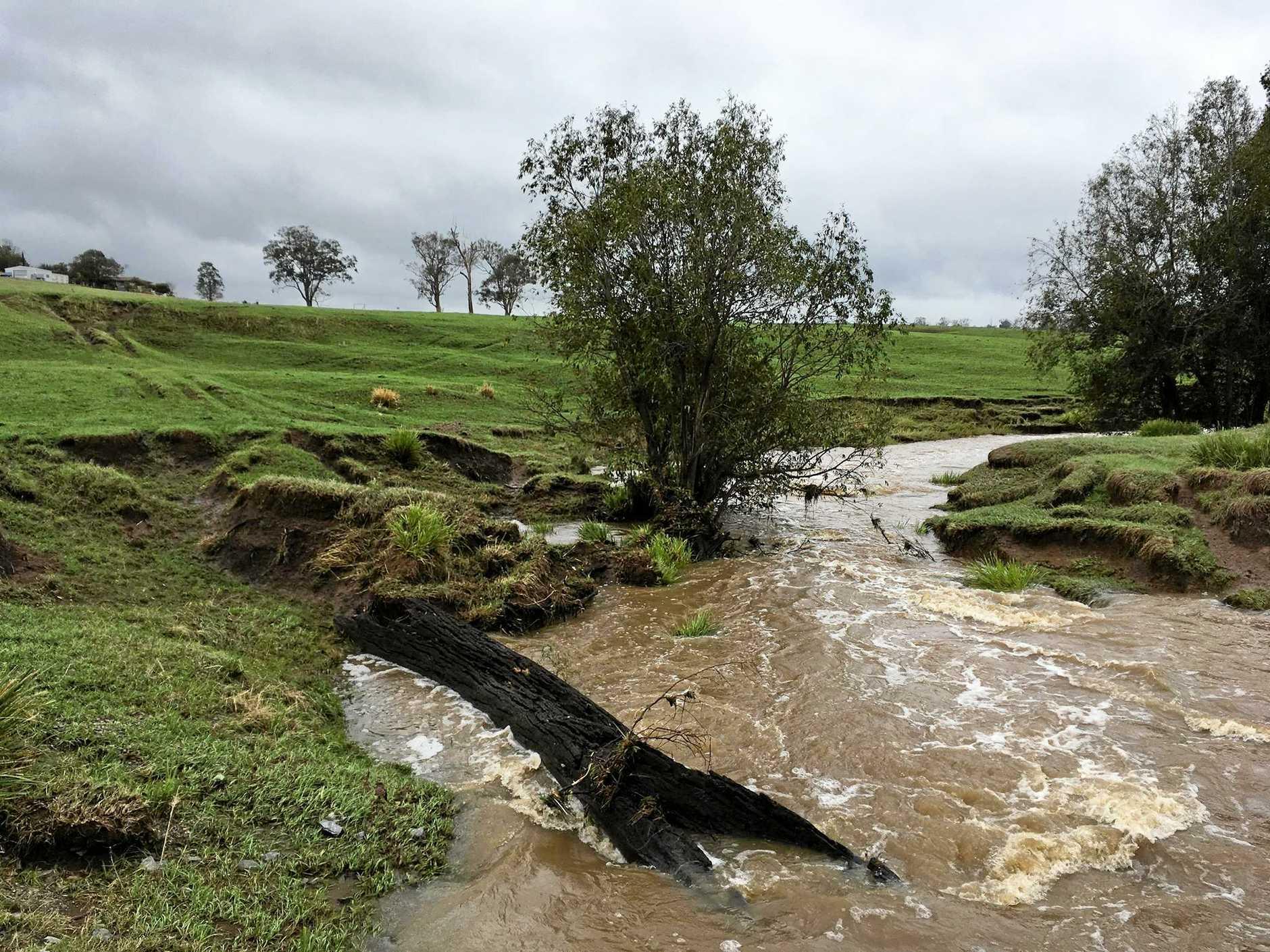 A creek at The Dawn.