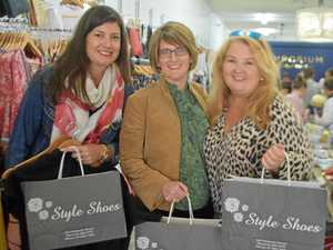 The city shoppers are travelling to Warwick to spend