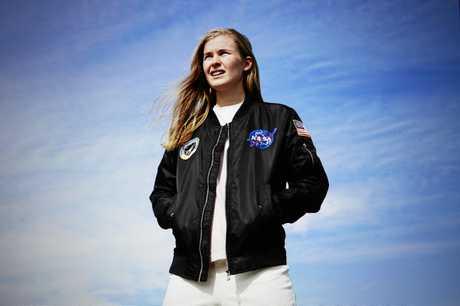 Sydney musician Alex Lynn, also known as Alex the Astronaut.
