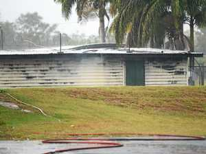 Children charged with sports facility shed arson