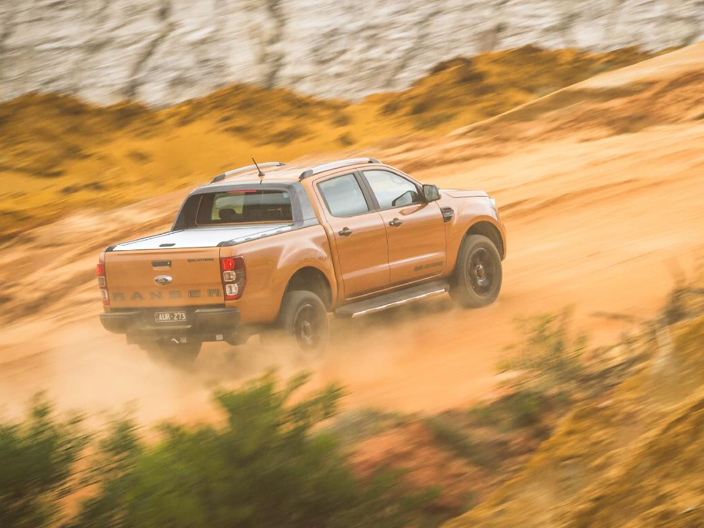 Wildtrak: High-end ride quality — plus it's the first pick-up with auto emergency braking