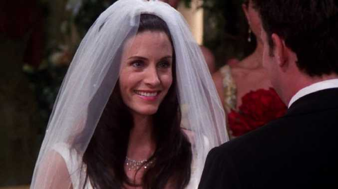 Monicas wedding vows from friends to dating