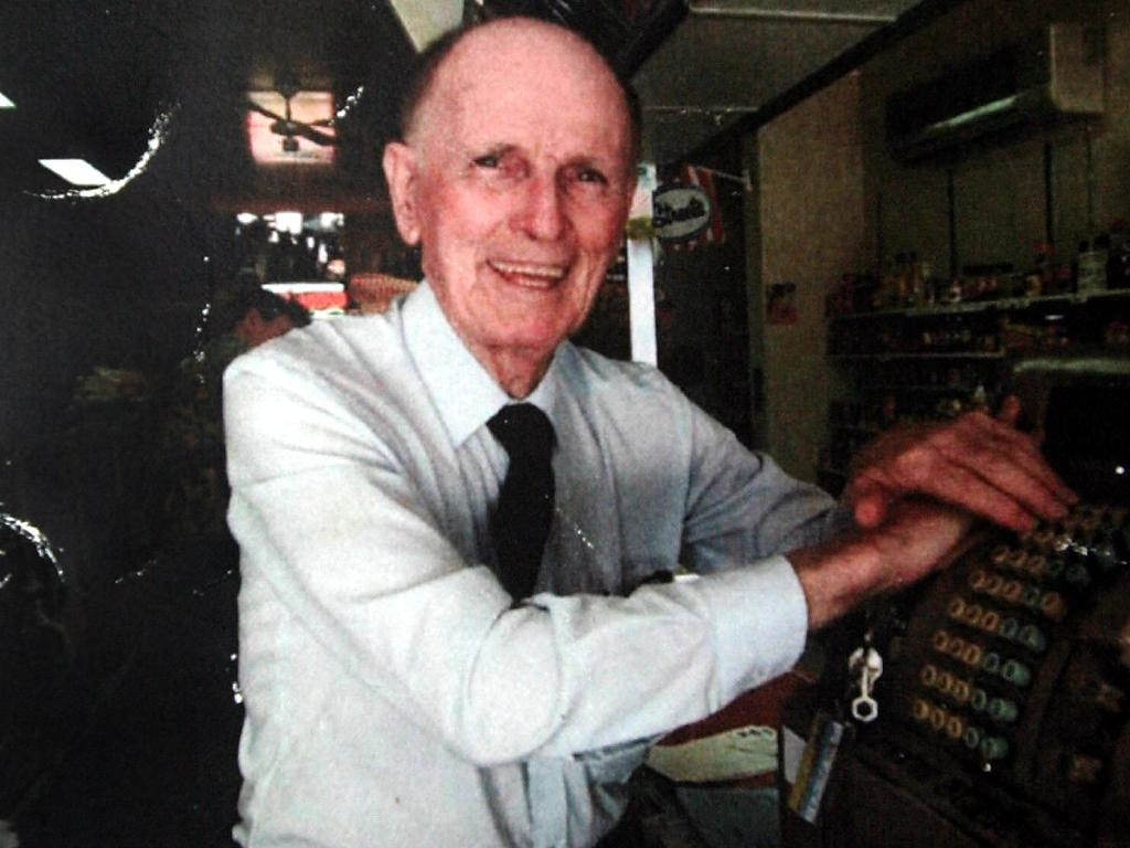 The gentleman grocer Frank Newbery.