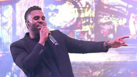 Jason Derulo performs after The Everest in 2017.