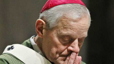 The archbishop of Washington DC Donald Wuerl has stepped down over the handling of sex abuse cases but received praise from the Pope.