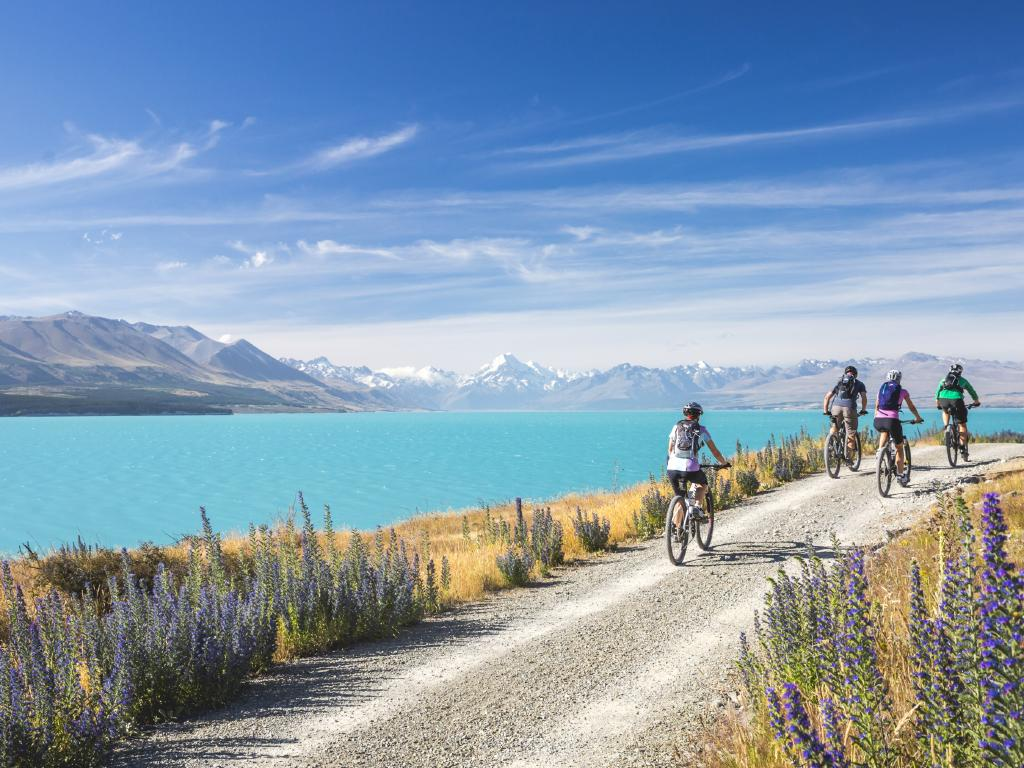 Alps 2 Ocean, Lake Pukaki, Canterbury. Picture: Miles Holden