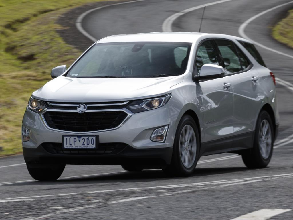 Holden Equinox LS (2018). Picture: Supplied.