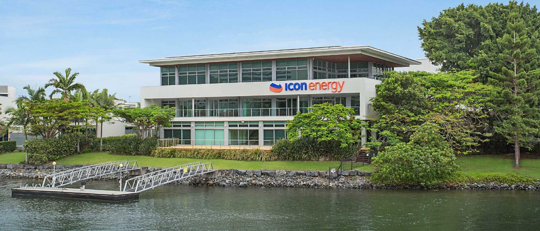 The Icon Energy headquarters at Broadbeach Waters. Photo: Supplied