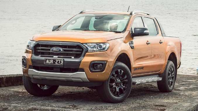 Ford Ranger Wildtrak lights path leading to premium pick-ups