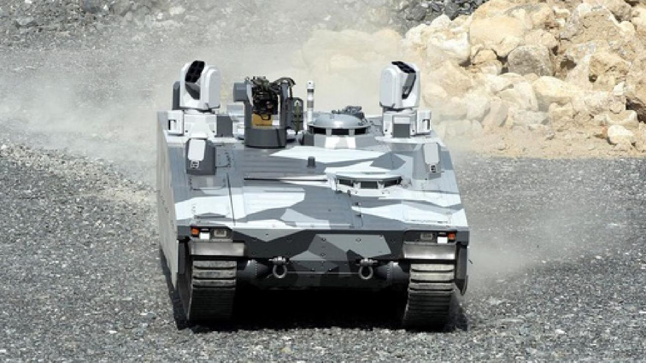 CV90 variant. Picture: BAE Systems