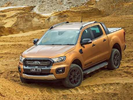 Supplied Cars Ford Ranger Wildtrak