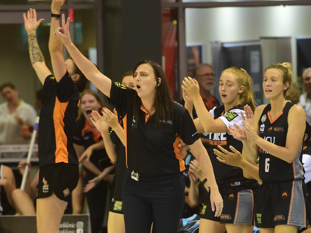 Townsville coach Claudia Brassard. Picture: Evan Morgan