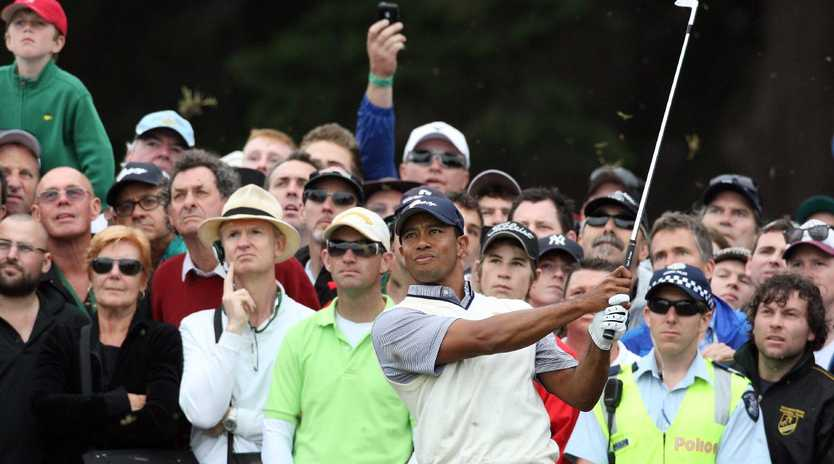Tiger Woods hasn't graced Melbourne fairways since 2011.