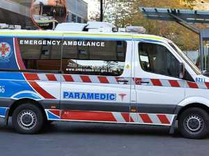 Boy injured after falling from motorcycle
