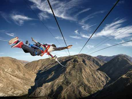 Want to take the Nevis Catapault aka The Thriller? Picture: AJ Hackett Bungy NZ