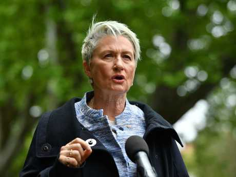 Independent candidate for Wentworth Kerryn Phelps. Picture: Joel Carrett