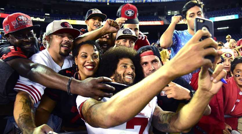 There is proof Kaepernick played with the 49ers, just ask these fans.