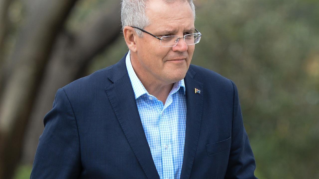 Prime Minister Scott Morrison. Picture: Paul Braven