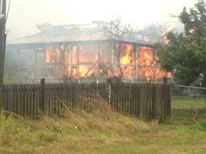 Fraser Coast home engulfed in flames