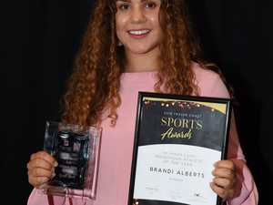 2018 Fraser Coast Sports Awards - triathlete Brandi
