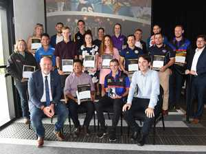 2018 Fraser Coast Sports Awards - award winners and