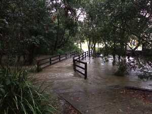 Wettest October in 15 years for Qld town