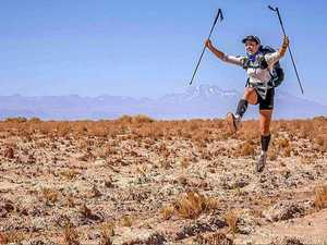 Extreme athlete has the world's harshest deserts in sight