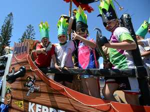 GALLERY: Yeppoon student sails across Pinefest finish line
