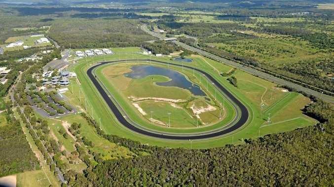 CORBOULD PARK: An archive aerial photo of the Sunshine Coast's Corbould Park.