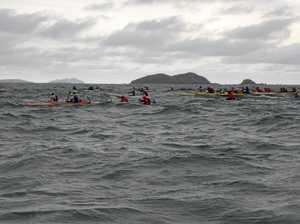 Cap Coast, Rocky paddlers taste victory in downwinder