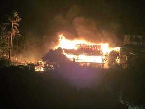 Lennox inferno threatened entire street: neighbour