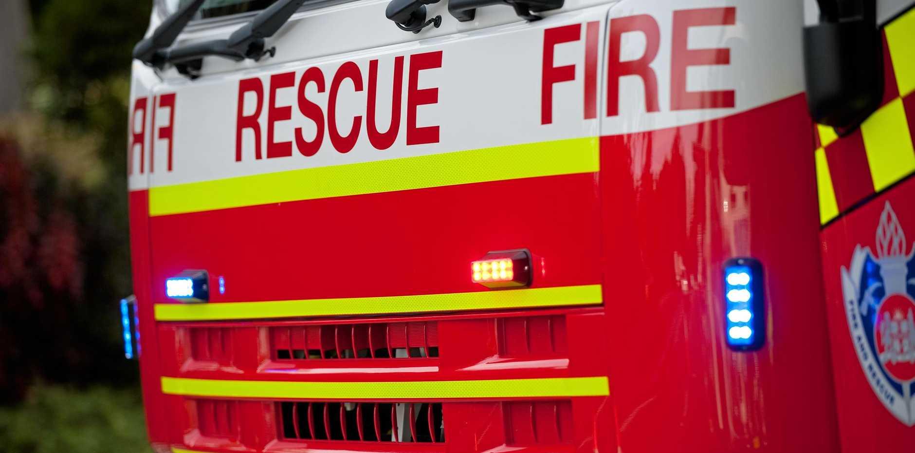 NSW Fire Rescue Truck Photo: Trevor Veale / The Coffs Coast Advocate.