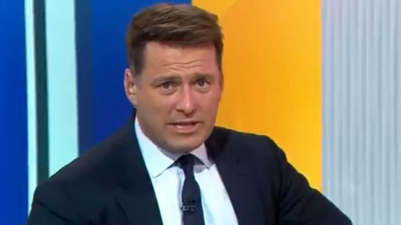 Today Show host Karl Stefanovic was reportedly about to be sacked