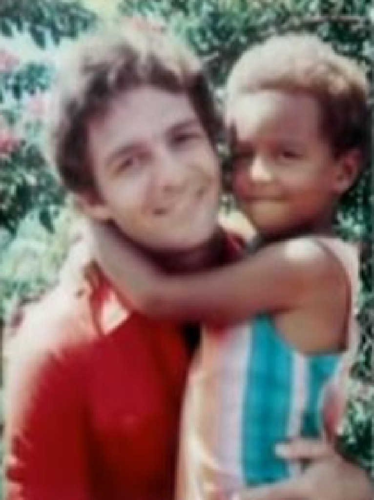 Vern Gosney and the son he left behind at Jonestown.