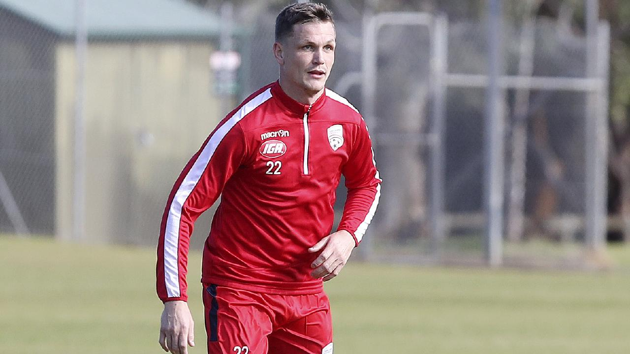 Michael Jakobsen is a key signing for Adelaide United. Picture: Sarah Reed