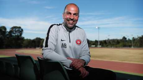 Western Sydney Wanderers coach Markus Babbel. Picture: Brett Costello