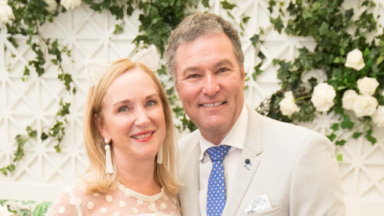 Gold Coast MP John-Paul Langbroek's wife Stacey joined him on the taxpayer-funded trip to WA. Picture: Luke Marsden.
