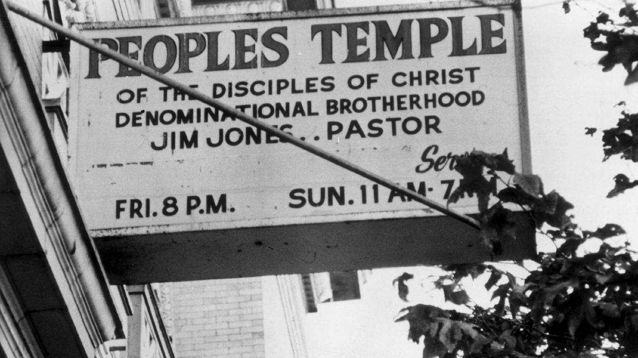 People's Temple, San Francisco, the headquarters for Jim Jones before he moved to Guyana and started unravelling.