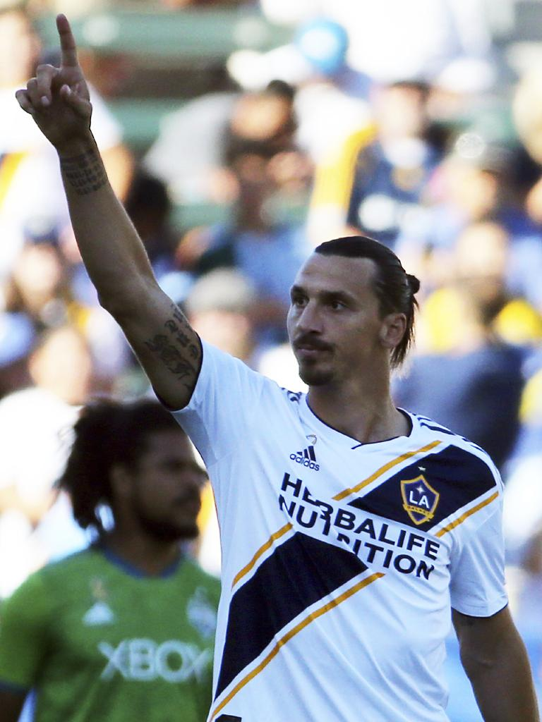Who wouldn't want to see Ibra Down Under? (AP Photo/Reed Saxon)