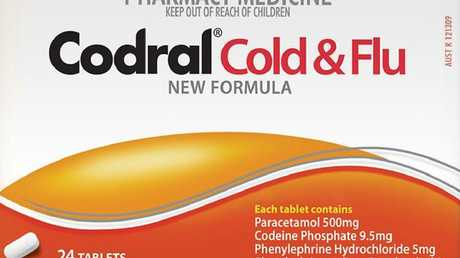 Before they changed the formula to remove codeine and replace pseudoephedrine, I risked big trouble as an accidental trafficker of approximately four Codral Cold & Flu tablets.