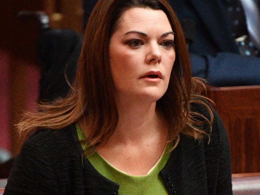 Ms Hanson-Young was shocked at the way her colleagues treated her after she announced her pregnancy. Picture: Mick Tsikas / AAP