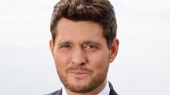 Michael Buble says he is retiring from music.  Picture:  Jonathan Ng