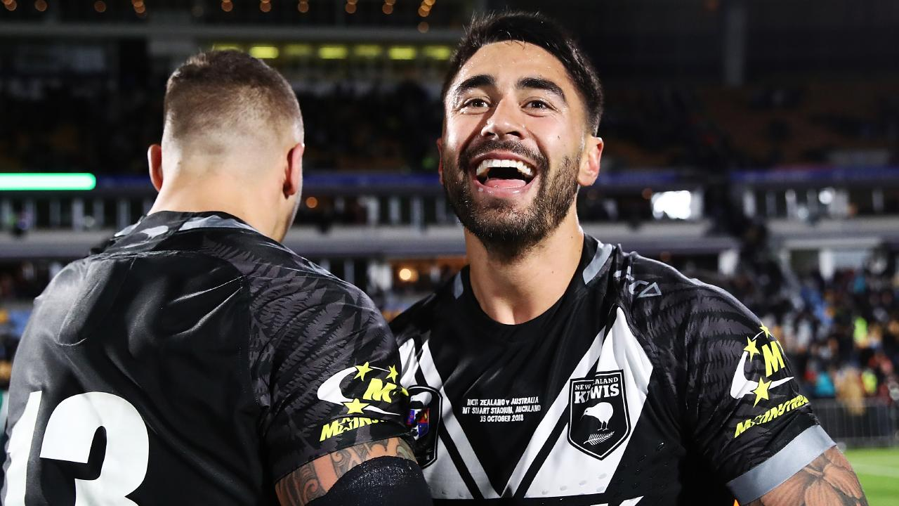 Shaun Johnson of the Kiwis.