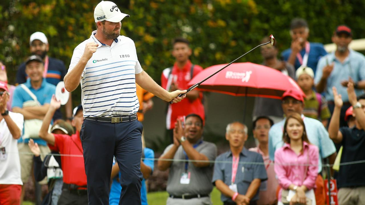 Leishman's form is good news for Australian fans. (Sadiq Asyraf / AFP)