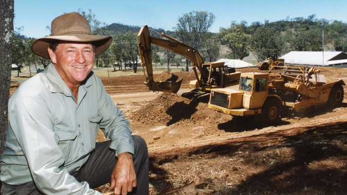 Clive Berghofer's construction machinery up for auction