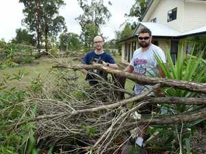 Clean-up continues after monthly rainfall averages smashed