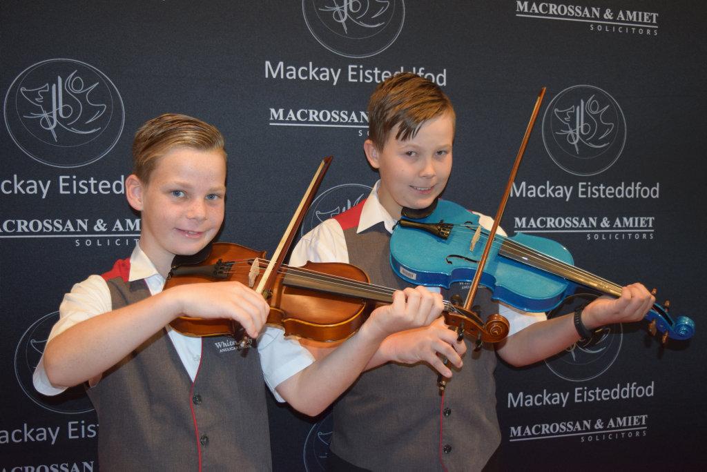 Image for sale: Benjamin Manning (9) and Flynn Baker (10).