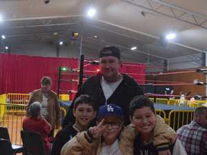 Pro-Wrestling at Gympie South School Saturday October