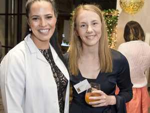 DMK educator Sarah Midgley (left) and Kate McNeil as